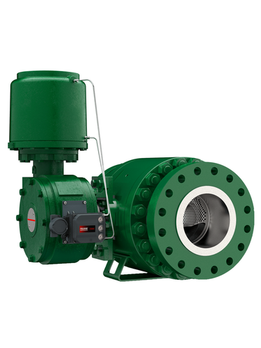 Emerson's New Full-Bore Ball Control Valve Combats Vibration, Cavitation and Noise